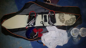 Board boots and bag Peterborough Peterborough Area image 1