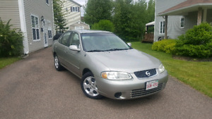 SOLD 2003 Nissan Sentra LOW KMS