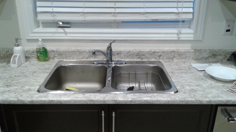 Moen foucet and double sink | Plumbing, Sinks, Toilets & Showers ...