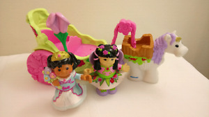 Fisher Price Little People Fairy Carriage
