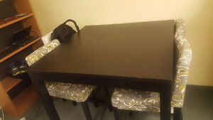 Bar height table and chairs -$500 OBO