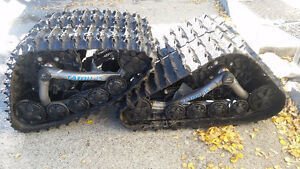 Camoplast Tatou 4S ATV Snow Tracks + New Fit Kit for Grizzly