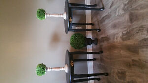 Refinished end table set