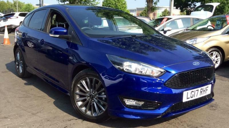2017 ford focus 1 0 ecoboost 125 st line 5dr manual petrol hatchback in northampton. Black Bedroom Furniture Sets. Home Design Ideas