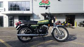 1976 Yamaha RD400 Classic Motorcycle California Import 7,133 Miles