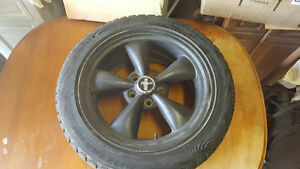 Mustang mags and tire set