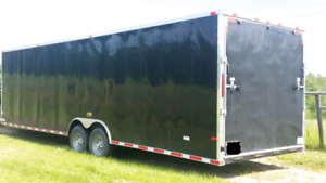 2015 Cynergy 27' plus v-nose enclosed trailer