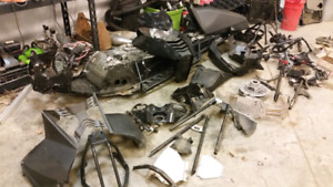 Arctic cat M 1100 parting out.
