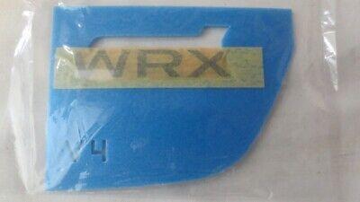 """NEW Genuine OEM Subaru Rear Badge  /""""Crosstrek/"""" 2013 with Template NEW NR"""