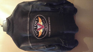 Victory leather jacket-womens XL