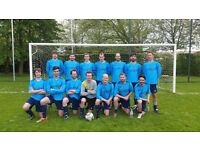 Footballers wanted for 11 aside men's team - Sunday league Cambridge