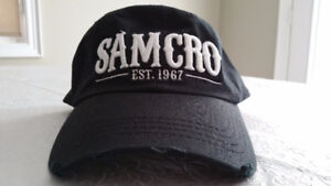 SAMCRO hat / baseball cap (Sons of Anarchy) - Never worn
