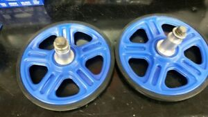 8 INCH BLUE 4TH WHEEL KIT FOR YAMAHA AND ARCTIC CAT