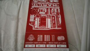 Toronto FC vs DC United Sunday March 17 @ 7:30pm $80 for pair