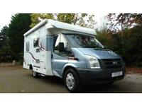 Carado T135 3 berth low profile rear fixed bed motorhome for sale