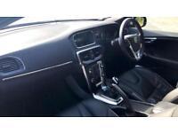 2014 Volvo V40 D2 120hp R Design Lux Nav with Manual Diesel Hatchback