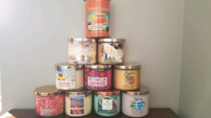 BRAND NEW Bath and Body Works Candles 3 wick