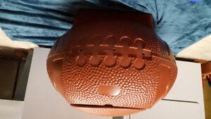 Vintage Little Tikes football toy box