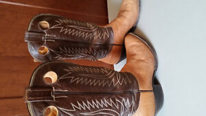 Men's Norcona Leather Cowboy Boots