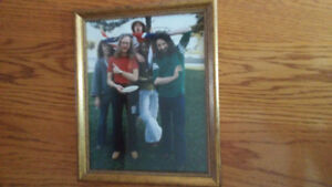 Supertramp photo with frame
