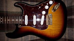 Deluxe fender stratocaster for sale