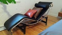 Chaise longue vintage 1970 mid century chair