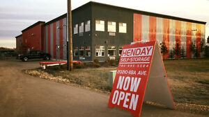 Henday Self Storage - new, clean, climate controlled facility