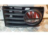 VW Golf MK5 2004-2008 Fog Light Lamp Cover Front Bumper Trim Grille LEFT N/S