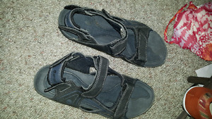 Mens sandals size 12 worn once