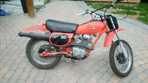 almost all original honda dirt bike
