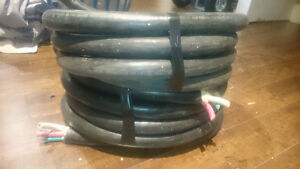 Two 17' lengths of 2/3 flexible wire