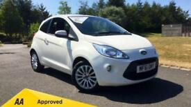 2011 Ford Ka 1.2 Zetec (Start Stop) Manual Petrol Hatchback