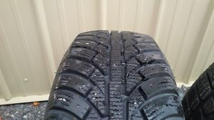 lots of new and used winter tires
