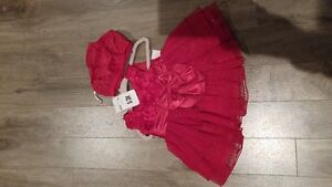 2 - Baby Red Dresses