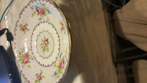 "3 Royal Albert Old Country Roses 6 1/4"" Bread and Butter Plates"