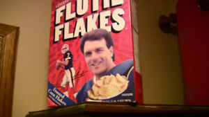 FOR SALE BOX OF FLUTIE FLAKES COLLECTORS EDITION