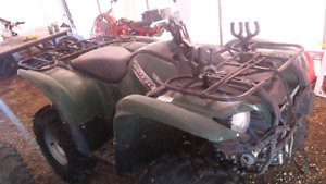 Yamaha 550 grizzly. 2012 $5000