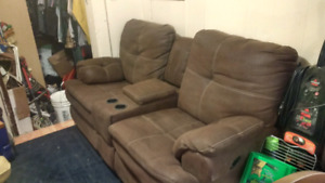 Couch AND loveseat!