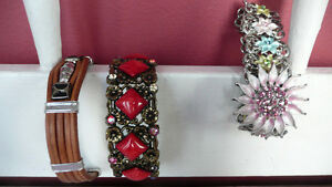 Three FASHION BRACELETS  $2 each or 3 for $5
