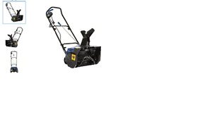 Souffleuse - Joe Snow avec fil / Snowblower with wire