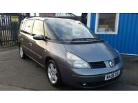 2006 RENAULT ESPACE 2.2 DCI AUTO GLOBE 7 SEATER SAT NAV *JUST REDUCED BY 500*