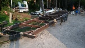 REDUCED TO MOVE 36' TRAILER FRAME FOR SALE