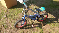 Boys Spiderman Bike