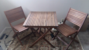 Solid Wood Patio Furniture