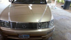 wanted hood for 1995 Lexus LS400