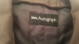 GENTLEMAN'S OVERCOAT MARKS AND SPENCER AUTOGRAPH COLLECTION