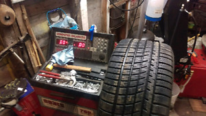 Tire changing