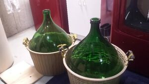 50L demijons - Perfect for home brewing/wine making. London Ontario image 1
