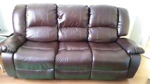 Sofa et fauteuil inclinable 350$