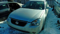 Nissan 2003 Altima 3.5 SE 4Dr 2WD Sedan For Parts Only Calgary Alberta Preview